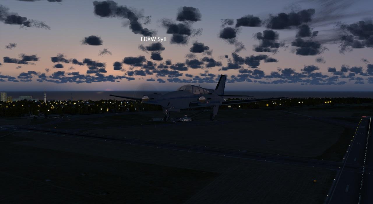 EDXW Nacht