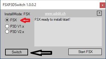 install scenerien FSX