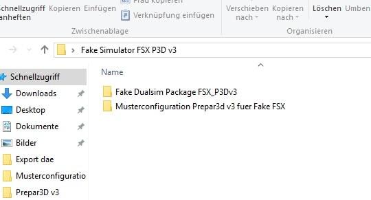Inhalt Fake Sim