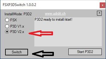 Install Flugzeuge P3D