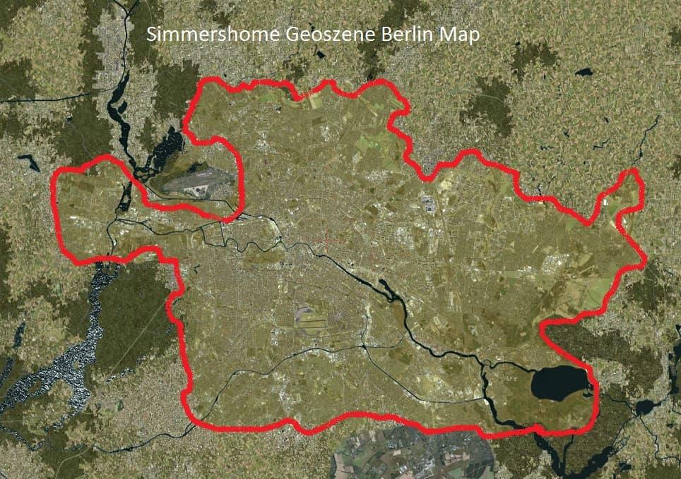 Geoszene Berlin Map