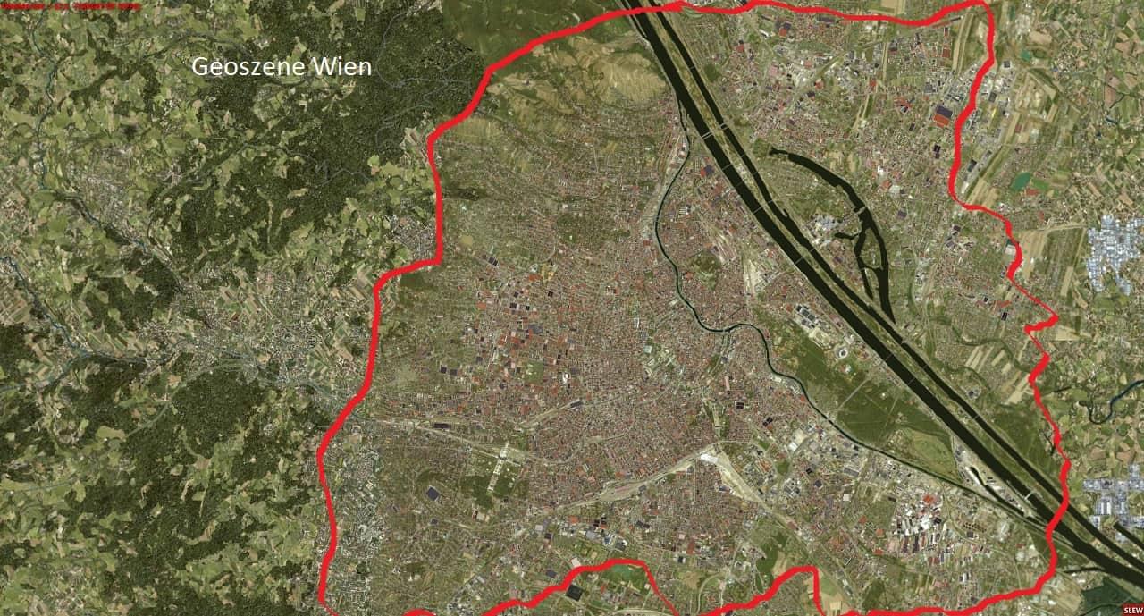 Geoszene Wien Gebiet